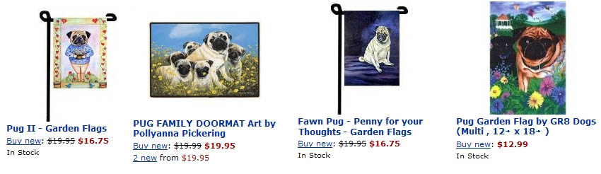Pugs Dogbreed Gifts Com Pug Flags Outdoor Decoration