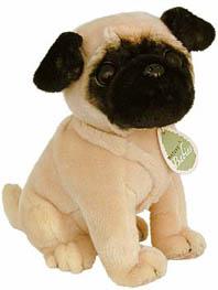 Pugs At Dogbreed Giftscom Stuffed Pugs Plush